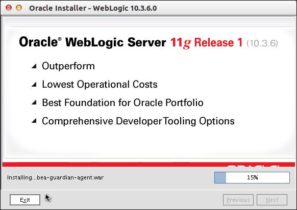 cara install oracle weblogic server