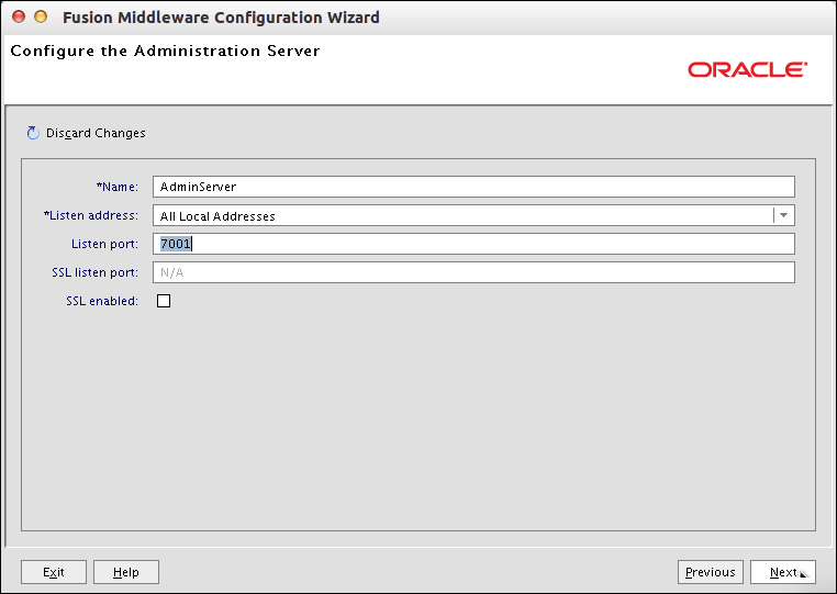 cara install weblogic server