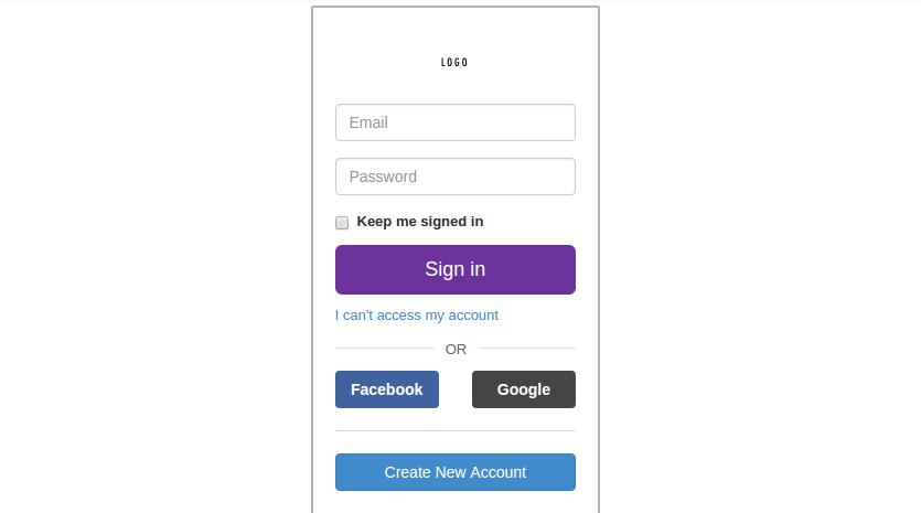 desain form login seperti yahoo