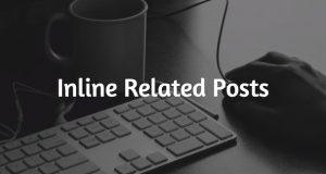 memasang related post di dalam postingan