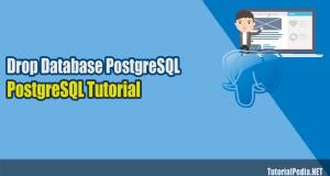 menghapus database di postgresql